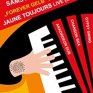 "Kompott ""Forever Gelb"" Party mit Jaune Toujours live (Brüssel)"